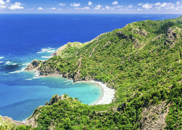 自然遗产的岛屿