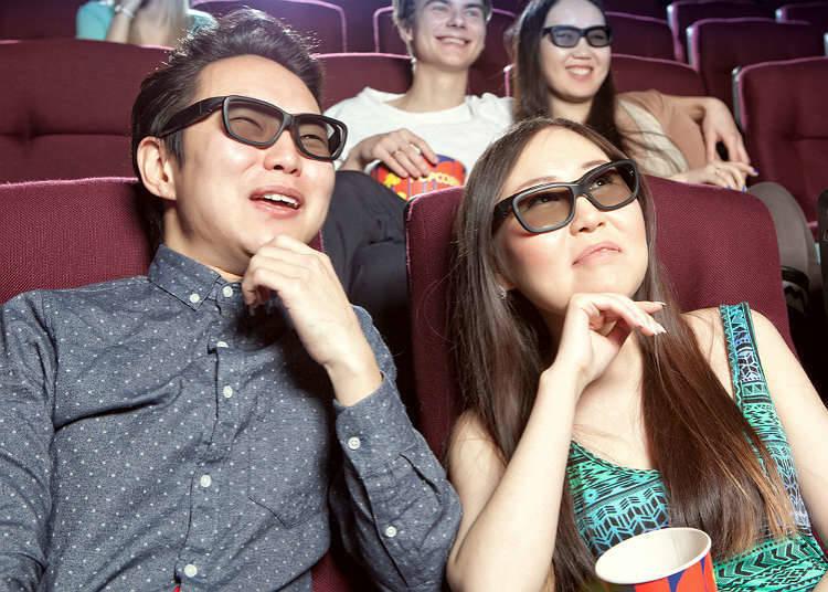 ประเภทของโรงภาพยนตร์ในประเทศญี่ปุ่น