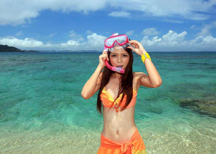 When is beach season in Japan?