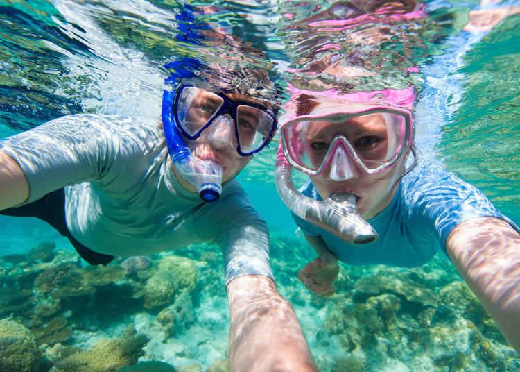 潜水、浮潜水