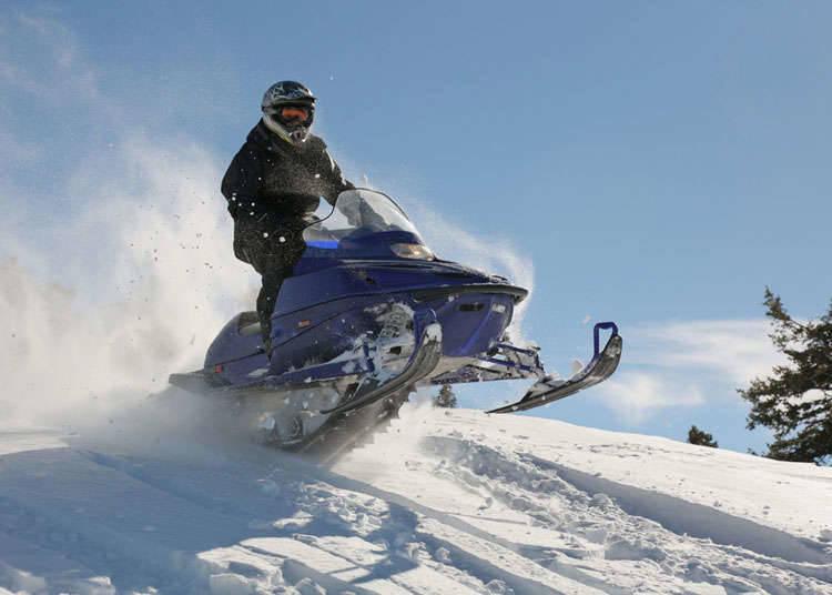 特殊的冬季休闲活动