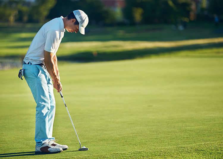 Golf di Jepun