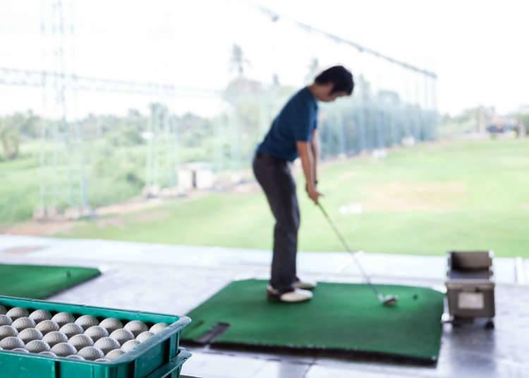 Padang golf yang terkenal