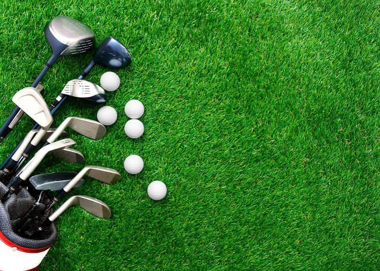 Cara membeli barangan golf
