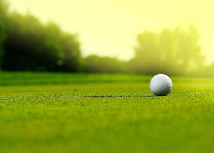 日本的高尔夫的享受方式