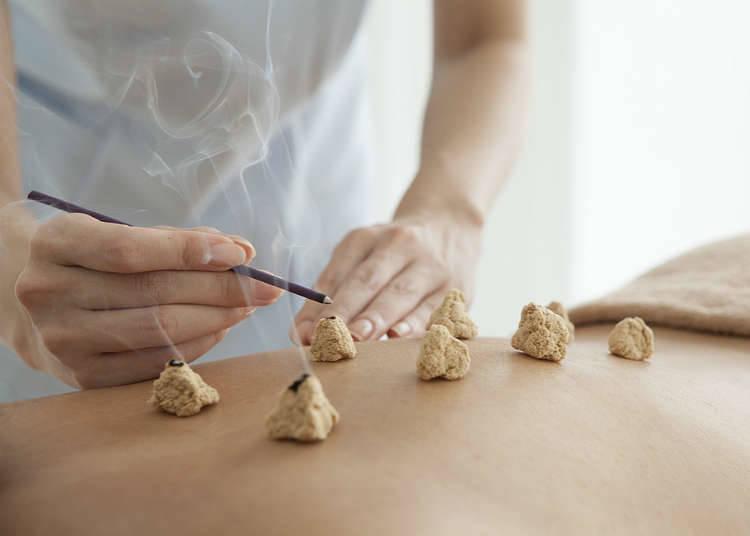 Akupunktur, Moxibustion