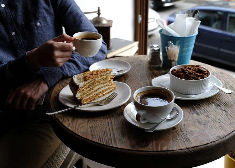咖啡廳、茶坊與甜點