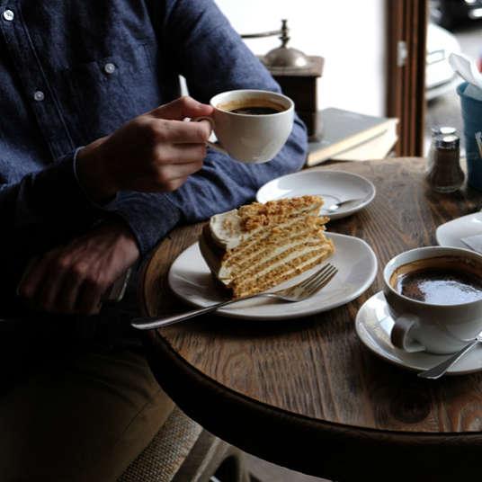 Kafe, Kedai Kopi, Kuih-muih