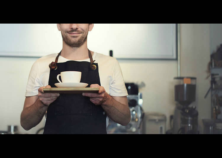 カフェ・喫茶店のマスター
