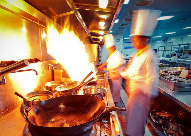 ประวัติของอาหารจีนในประเทศญี่ปุ่น