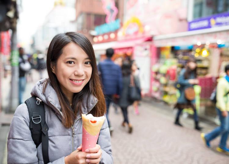 Harajuku: A Crepe Lover's Heaven