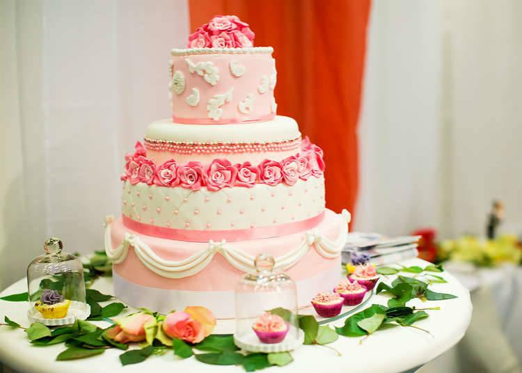在慶祝活動時享用的蛋糕