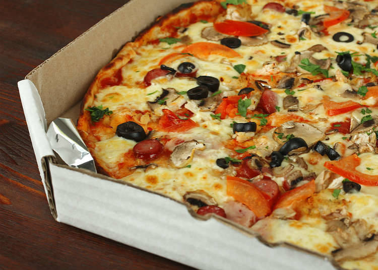 日本披萨的历史