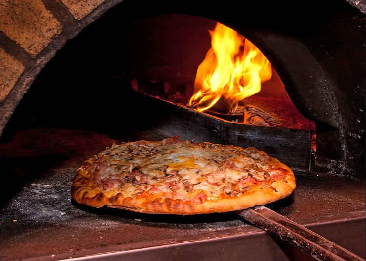 於日本可以品嚐到披薩的地方