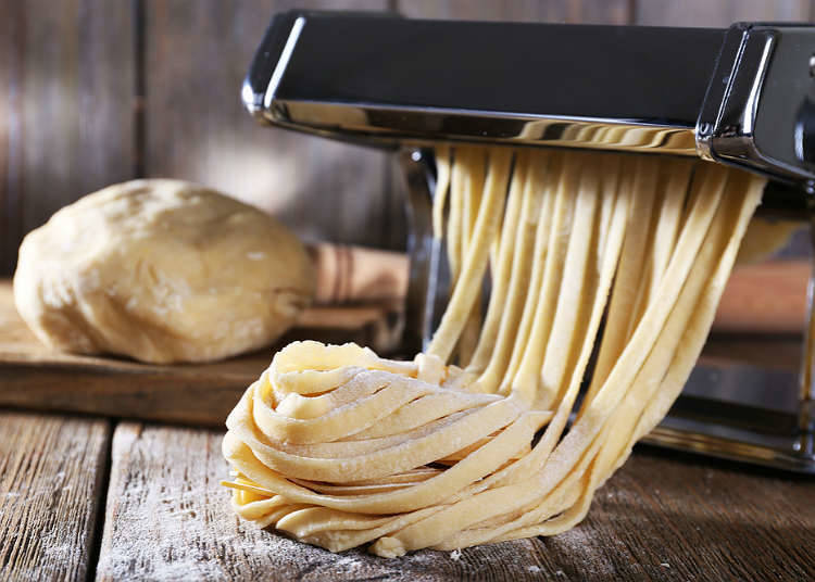 The history of Japanese pasta and spaghetti