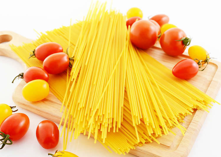 Places where you can eat pasta or spaghetti in Japan