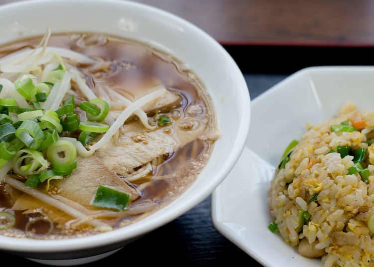 Tempat di mana nasi goreng dan menu nasi boleh didapati di Jepun