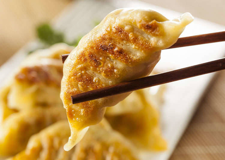 The history of Japanese gyoza