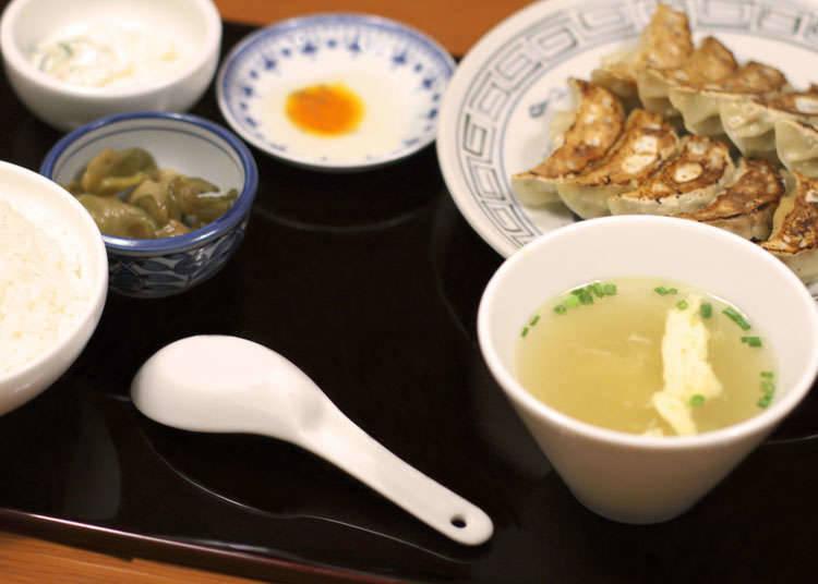 อาหารที่ทานคู่กับเกี๊ยวซ่า