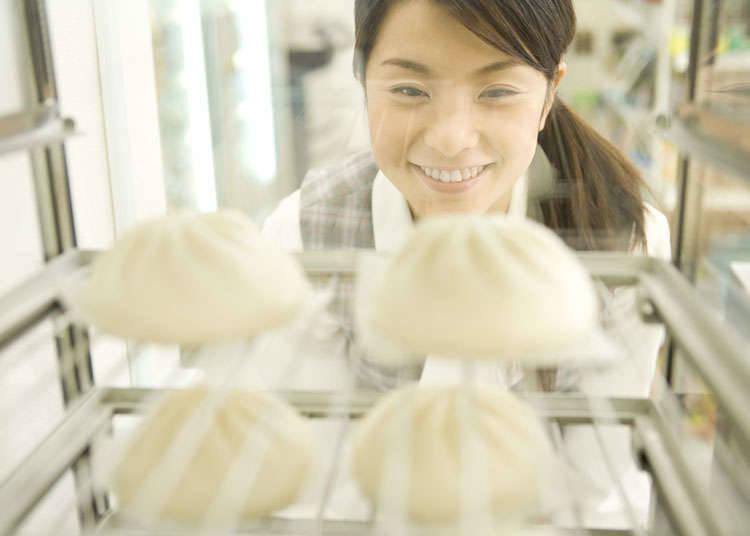 在日本可以吃到肉包的地方