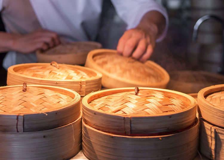 Restaurants serving dim sum in Japan