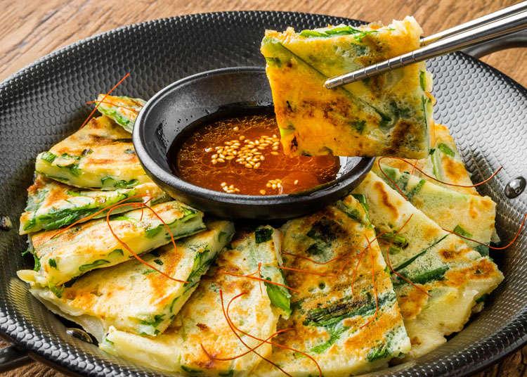 韓式拌飯與韓式煎餅