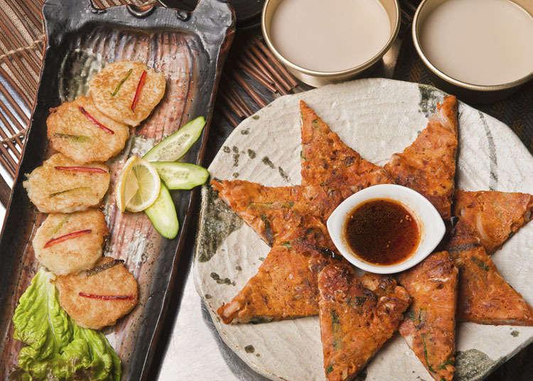 日本韩式煎饼的历史