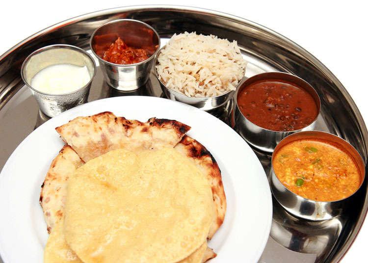 일본에서 인도 요리를 먹으려면