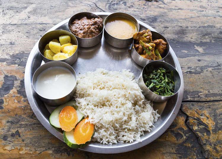일본 네팔 요리의 역사