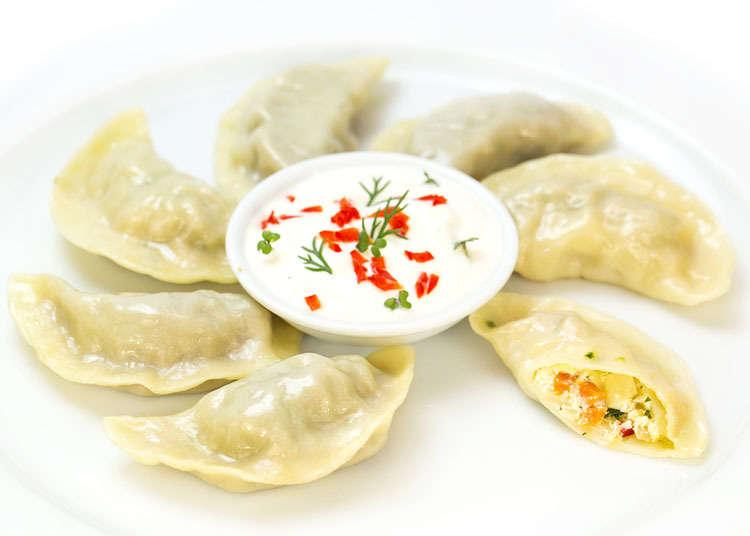 Momo (ladu atau dumpling Nepal)