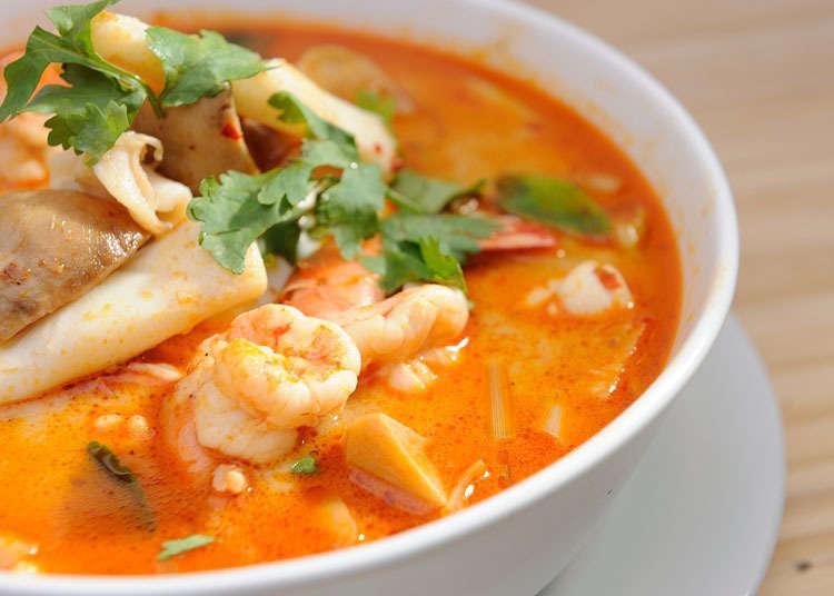 日本泰國料理的歷史