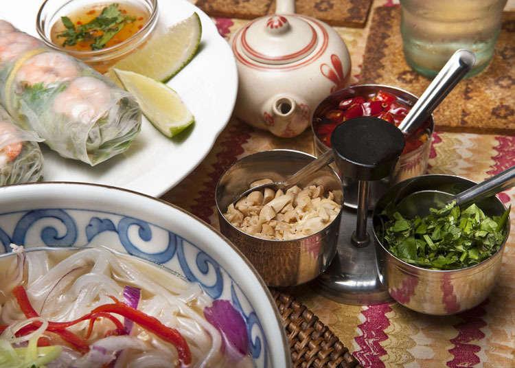 일본 베트남 요리의 역사