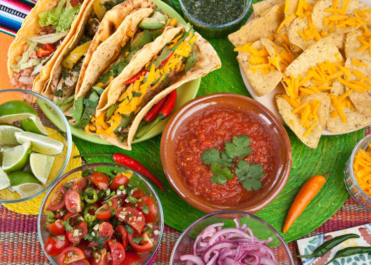 Mexican and Central American Cuisine