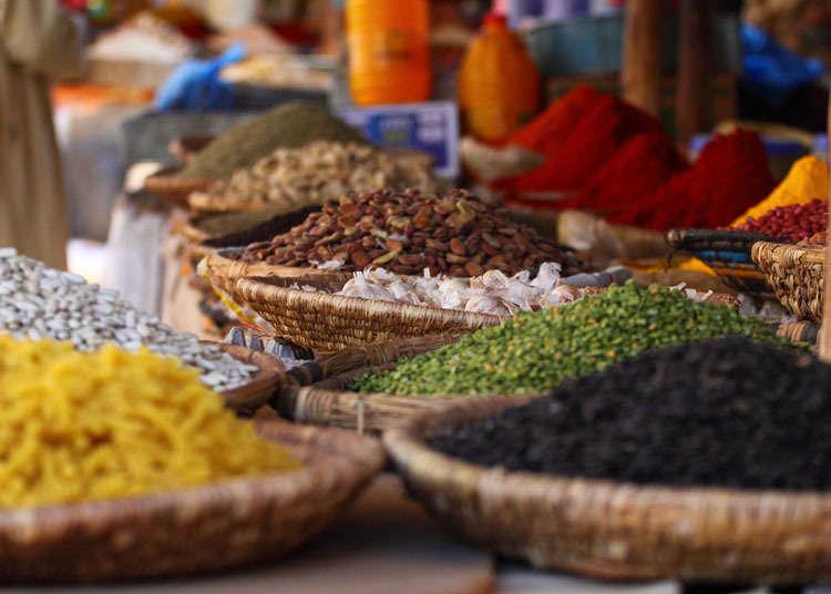 일본 모로코, 아프리카 요리의 역사