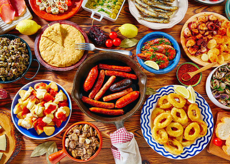 spanish cuisine live japan japanese travel sightseeing and