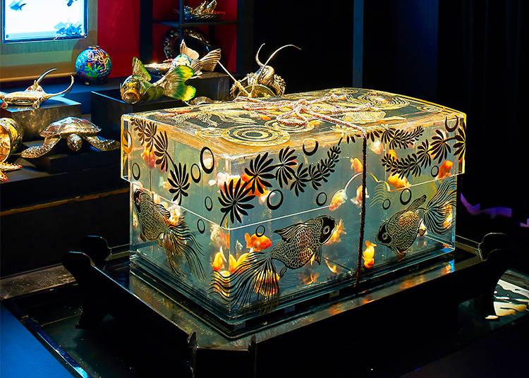 ECO EDO Nihonbashi Art Aquarium 2017
