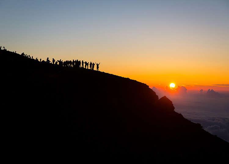เตรียมตัวปีนภูเขาไฟฟูจิ