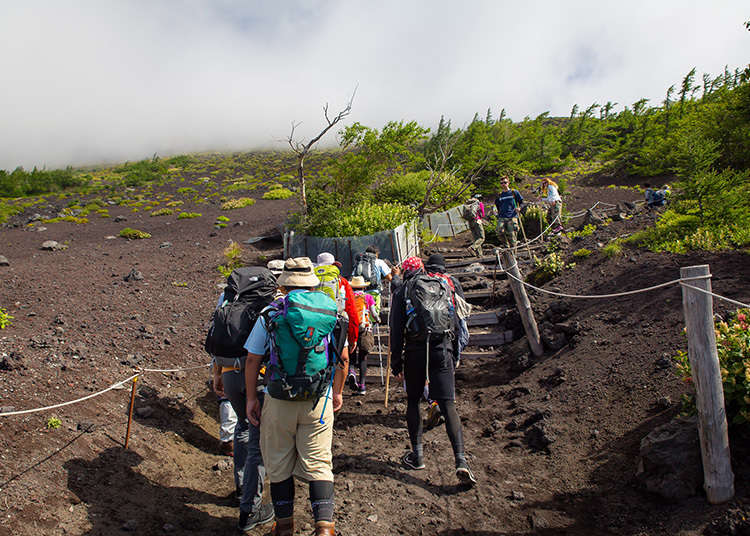 What Equipment to Bring to Climb Mt. Fuji