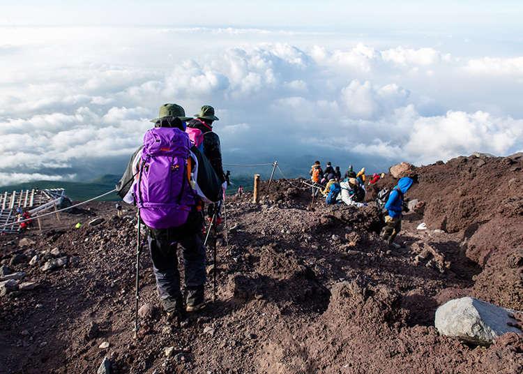Climbing Fuji 4: The Fuji-Nomiya Trail