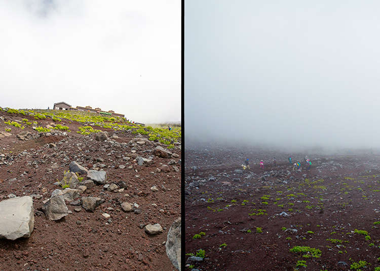 Weather on Mt. Fuji