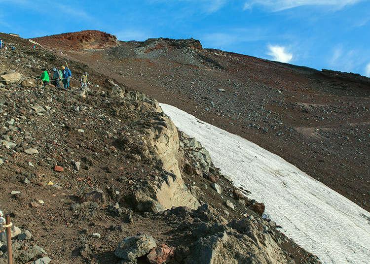 オフシーズンの登山