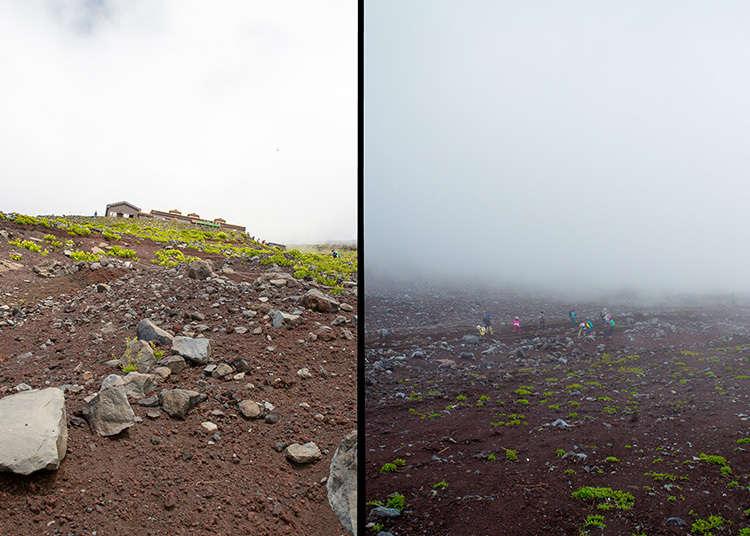 후지 산의 날씨