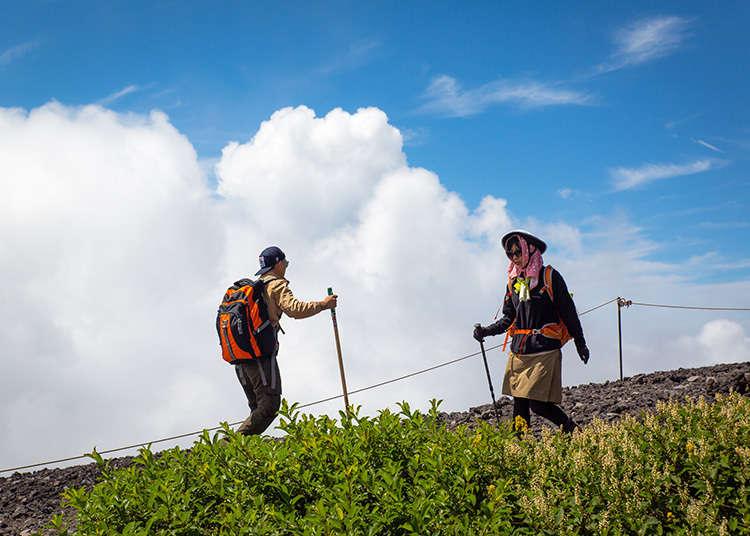 후지산 등산 코스 -고텐바 코스