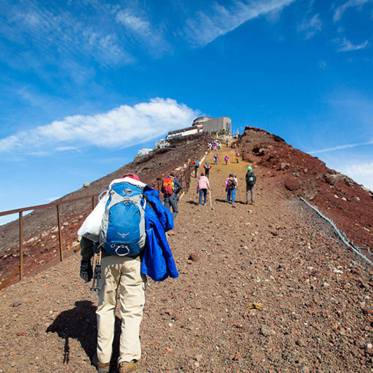 What to do at the Top of Mt. Fuji