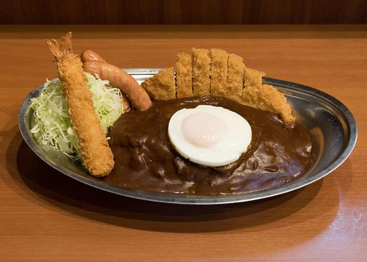 ボリューム満点の加賀カレー!