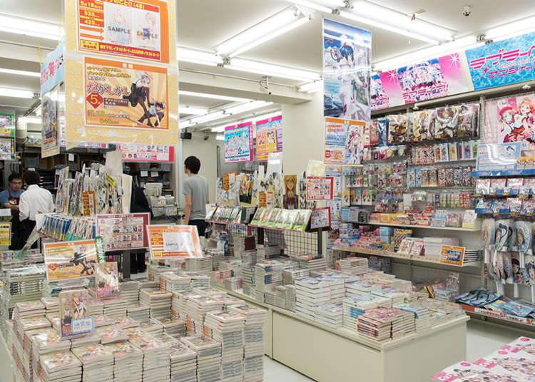애니메이션 팬이 모이는 전문 숍