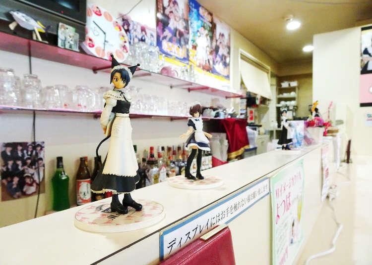 位于秋叶原的温馨家庭气氛女仆咖啡厅
