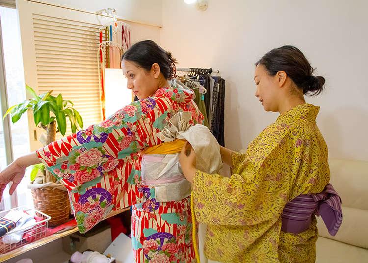 메인 이벤트 : 기모노를 입다