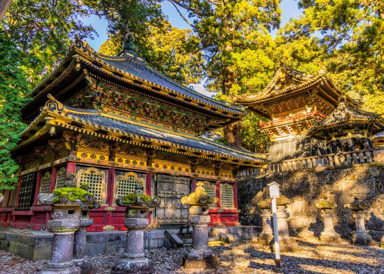 세계유산  '닛코 도쇼구' 신사를 돌아다니는 여행
