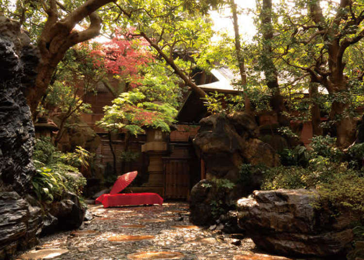 Beautiful Japanese Houses step into another world: beautiful japanese tea houses & gardens